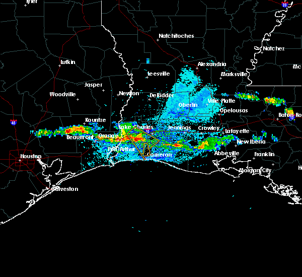 Radar Image for Severe Thunderstorms near Lake Charles, LA at 3/25/2019 3:51 PM CDT