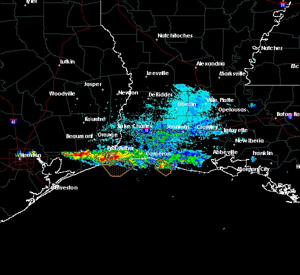 Radar Image for Severe Thunderstorms near Port Arthur, TX at 3/25/2019 5:22 PM CDT