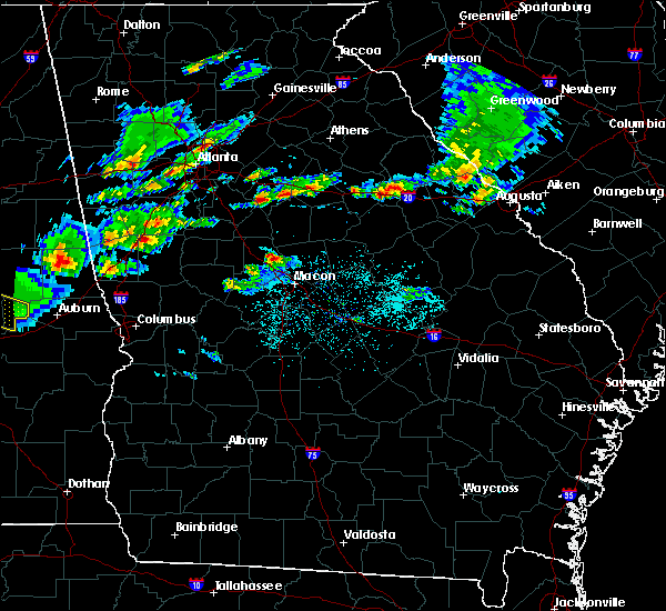Radar Image for Severe Thunderstorms near Gray, GA at 3/25/2019 7:05 PM EDT