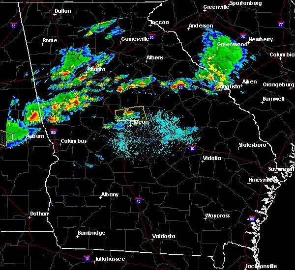 Radar Image for Severe Thunderstorms near Gray, GA at 3/25/2019 7:14 PM EDT