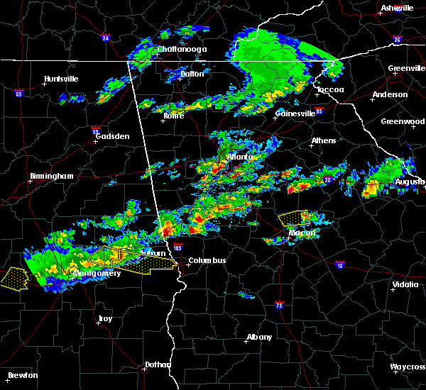 Radar Image for Severe Thunderstorms near Shiloh, GA at 3/25/2019 7:35 PM EDT