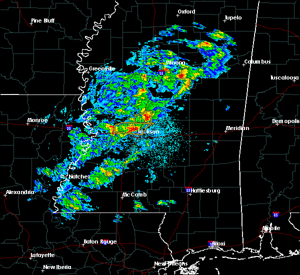 Radar Image for Severe Thunderstorms near Flowood, MS at 3/30/2019 7:45 PM CDT
