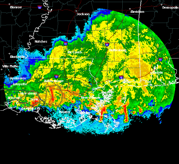 Radar Image for Severe Thunderstorms near Patterson, LA at 4/4/2019 11:20 AM CDT