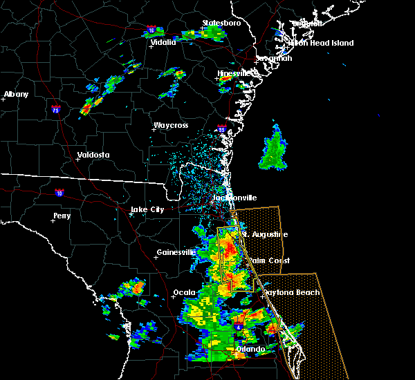 Radar Image for Severe Thunderstorms near Flagler Estates, FL at 6/10/2015 2:49 PM EDT