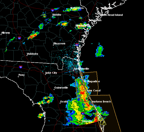 Radar Image for Severe Thunderstorms near Ormond Beach, FL at 6/10/2015 3:15 PM EDT