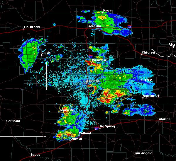 Radar Image for Severe Thunderstorms near Jayton, TX at 4/5/2019 10:08 PM CDT
