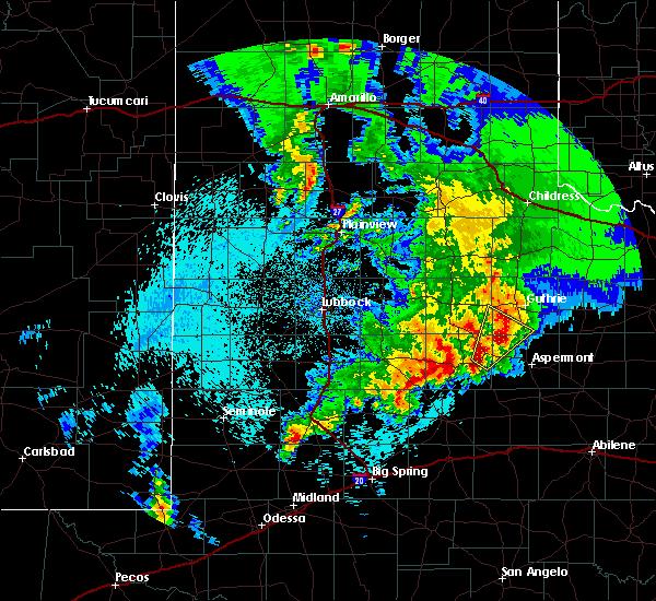 Radar Image for Severe Thunderstorms near Jayton, TX at 4/6/2019 12:42 AM CDT