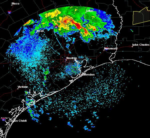 Radar Image for Severe Thunderstorms near Lovelady, TX at 4/6/2019 11:38 AM CDT
