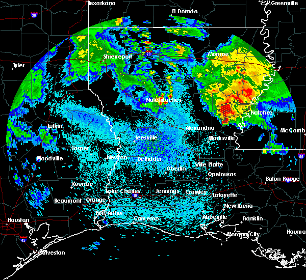Radar Image for Severe Thunderstorms near Jonesville, LA at 4/6/2019 2:21 PM CDT