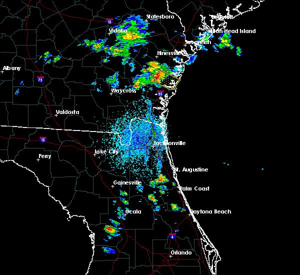 Radar Image for Severe Thunderstorms near Darien, GA at 4/6/2019 3:24 PM EDT