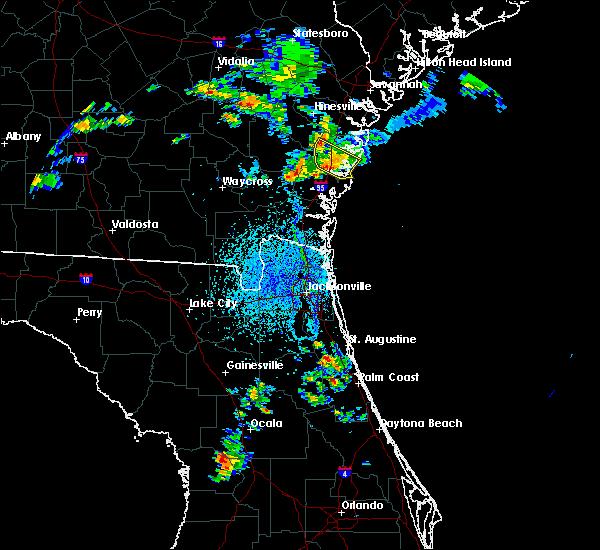 Radar Image for Severe Thunderstorms near Darien, GA at 4/6/2019 3:54 PM EDT