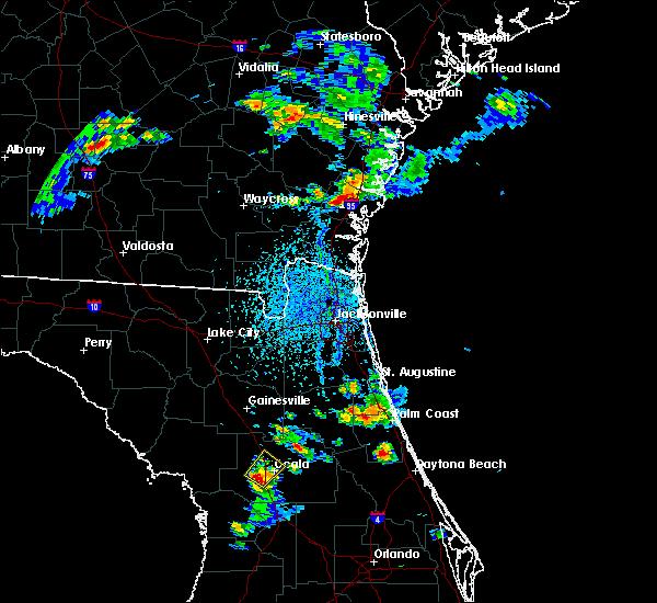Radar Image for Severe Thunderstorms near Ocala, FL at 4/6/2019 4:25 PM EDT