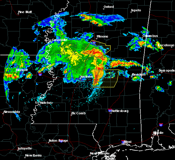 Radar Image for Severe Thunderstorms near Montrose, MS at 4/6/2019 5:21 PM CDT