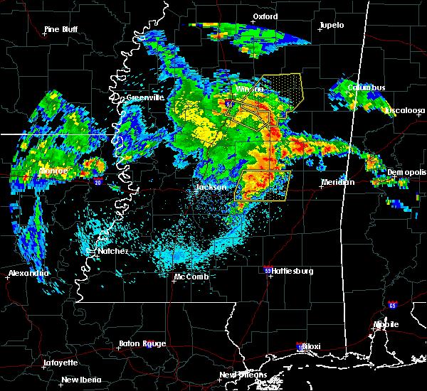 Radar Image for Severe Thunderstorms near Polkville, MS at 4/6/2019 5:46 PM CDT