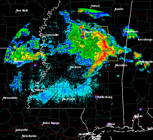 Radar Image for Severe Thunderstorms near Pearl River, MS at 4/6/2019 6:07 PM CDT