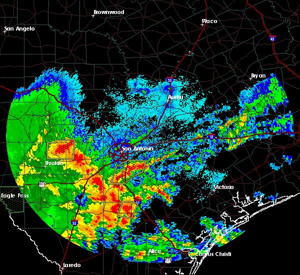 Radar Image for Severe Thunderstorms near San Antonio, TX at 4/7/2019 5:31 AM CDT