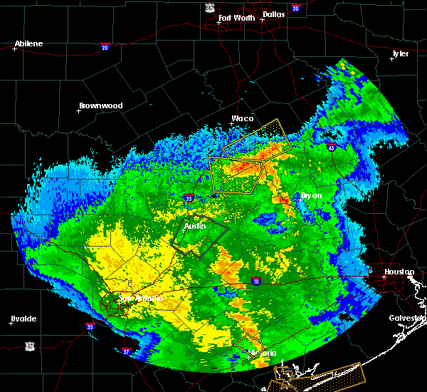 Radar Image for Severe Thunderstorms near Riesel, TX at 4/7/2019 9:44 AM CDT
