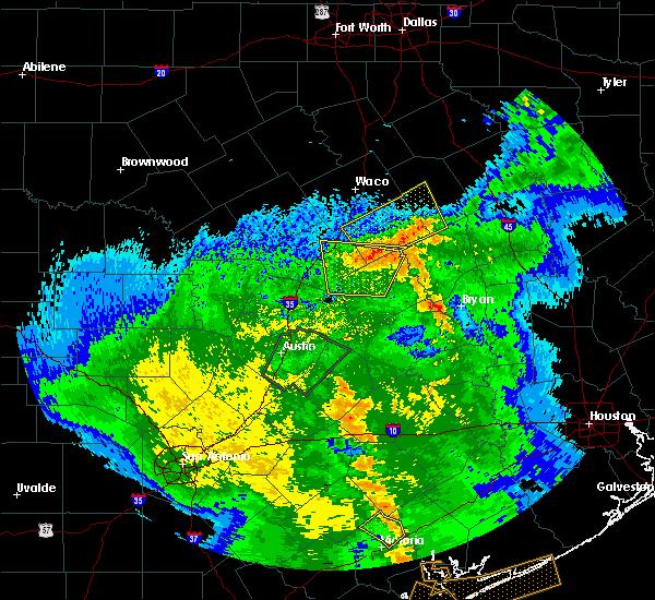 Radar Image for Severe Thunderstorms near Lott, TX at 4/7/2019 9:44 AM CDT