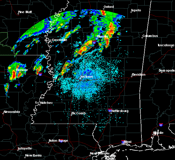 Radar Image for Severe Thunderstorms near Satartia, MS at 4/7/2019 1:05 PM CDT