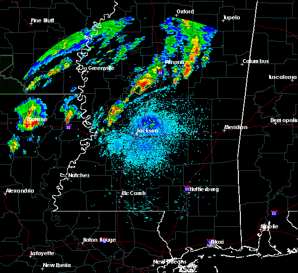 Radar Image for Severe Thunderstorms near Satartia, MS at 4/7/2019 1:16 PM CDT
