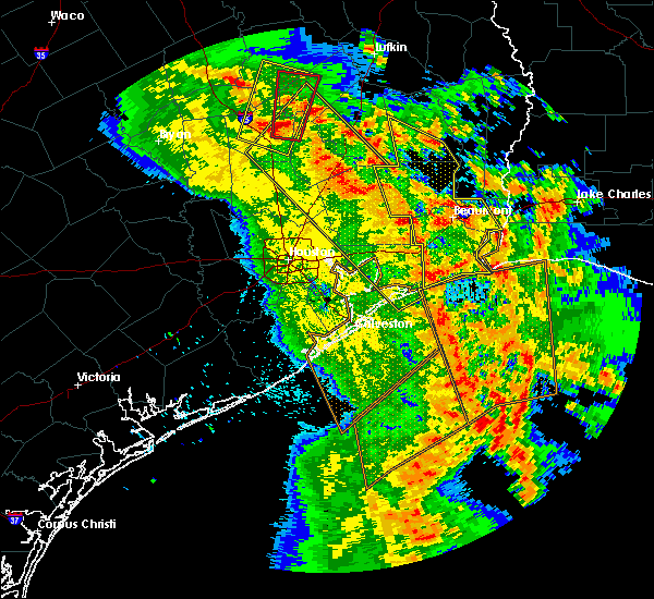 Radar Image for Severe Thunderstorms near Westwood Shores, TX at 4/7/2019 1:53 PM CDT
