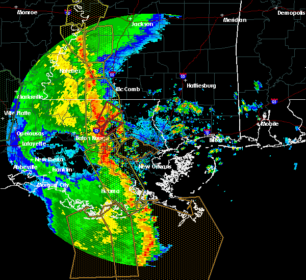 Radar Image for Severe Thunderstorms near Independence, LA at 4/7/2019 8:10 PM CDT