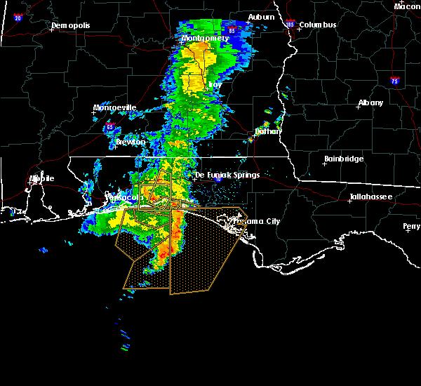 Radar Image for Severe Thunderstorms near Destin, FL at 4/8/2019 5:30 AM CDT