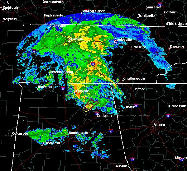 Radar Image for Severe Thunderstorms near Grant, AL at 4/8/2019 6:28 AM CDT