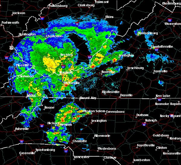 Radar Image for Severe Thunderstorms near Buchanan, VA at 4/8/2019 2:41 PM EDT