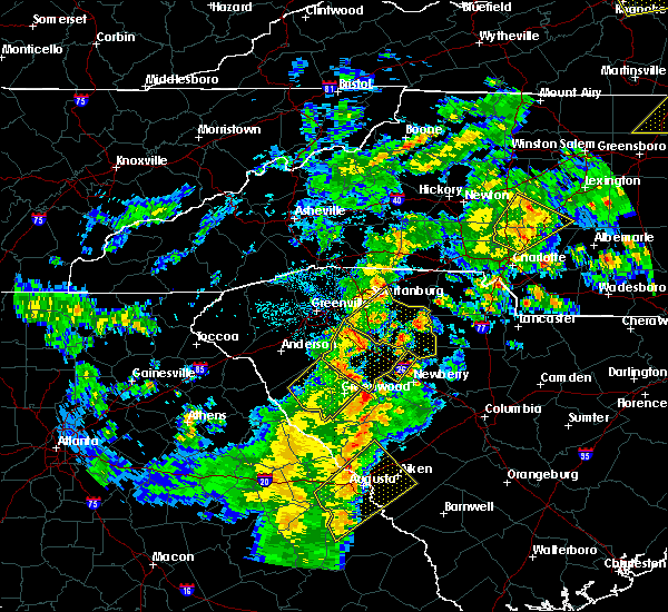Radar Image for Severe Thunderstorms near Harrisburg, NC at 4/8/2019 4:22 PM EDT