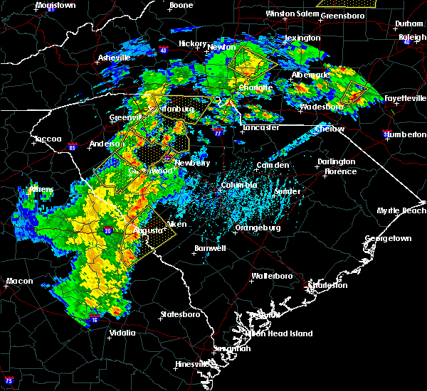 Radar Image for Severe Thunderstorms near Murphys Estates, SC at 4/8/2019 4:31 PM EDT
