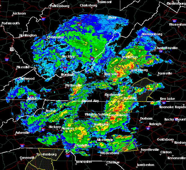 Radar Image for Severe Thunderstorms near Schuyler, VA at 4/8/2019 4:41 PM EDT
