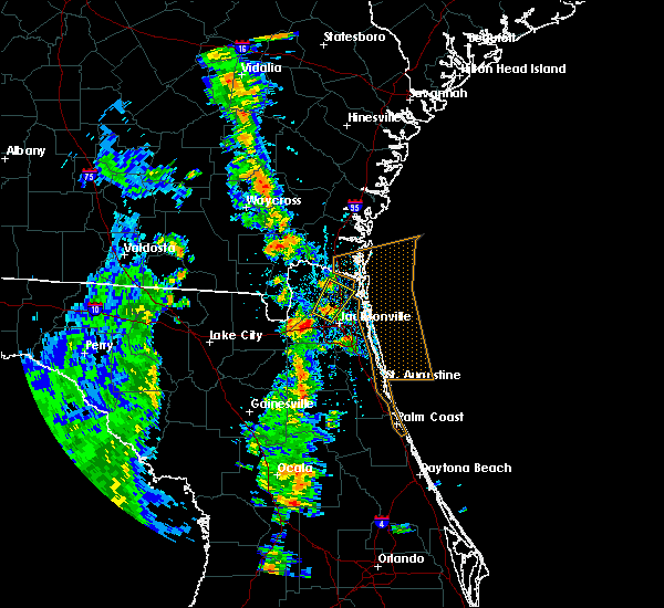 Radar Image for Severe Thunderstorms near Nassau Village-Ratliff, FL at 4/8/2019 5:25 PM EDT