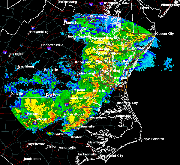 Radar Image for Severe Thunderstorms near Speed, NC at 4/8/2019 7:43 PM EDT