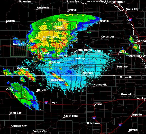 Radar Image for Severe Thunderstorms near Sumner, NE at 6/10/2015 6:34 PM CDT