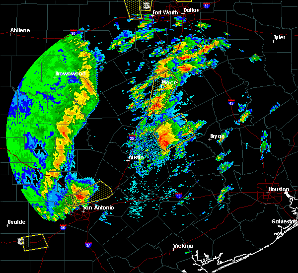 Radar Image for Severe Thunderstorms near Ross, TX at 4/13/2019 9:50 AM CDT