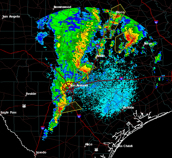 Radar Image for Severe Thunderstorms near Christine, TX at 4/13/2019 10:43 AM CDT