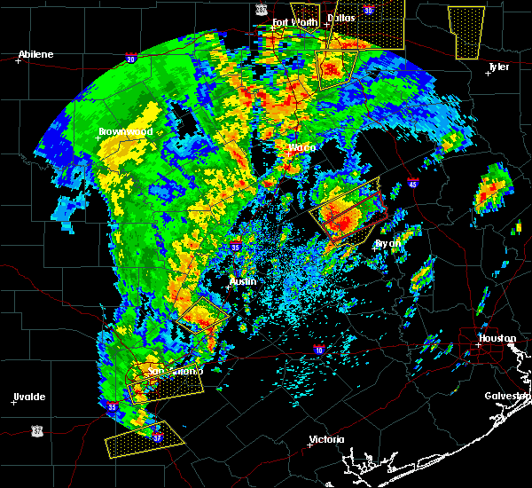 Radar Image for Severe Thunderstorms near Calvert, TX at 4/13/2019 10:52 AM CDT