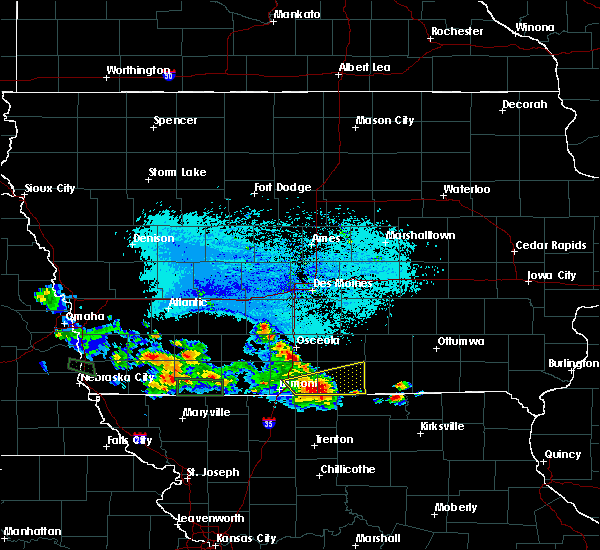 Radar Image for Severe Thunderstorms near Osceola, IA at 6/10/2015 6:51 PM CDT