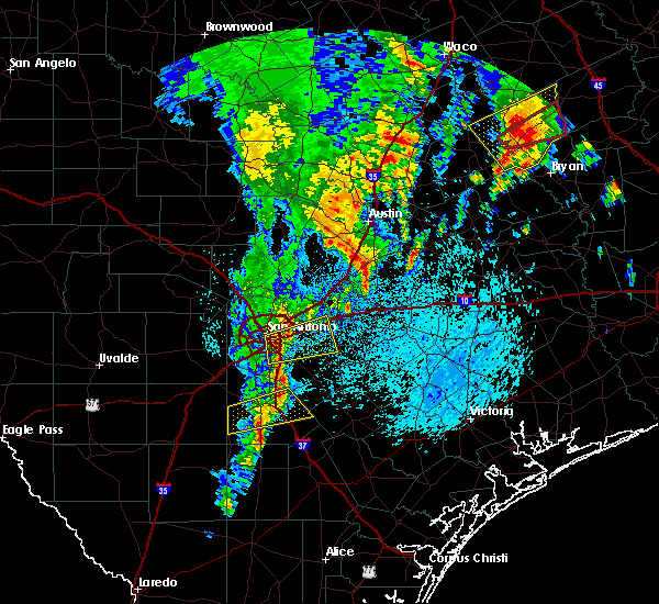 Radar Image for Severe Thunderstorms near Christine, TX at 4/13/2019 11:09 AM CDT