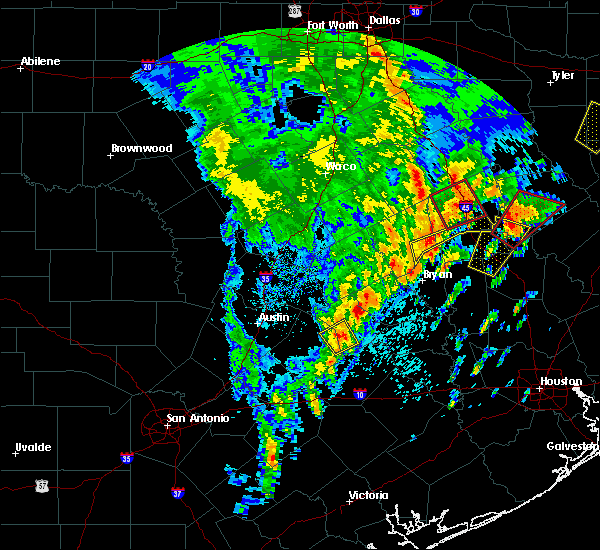 Radar Image for Severe Thunderstorms near Latexo, TX at 4/13/2019 12:27 PM CDT