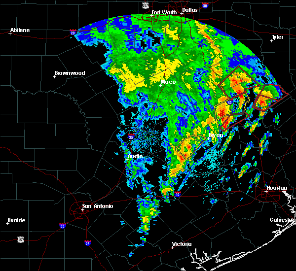 Radar Image for Severe Thunderstorms near Latexo, TX at 4/13/2019 12:45 PM CDT