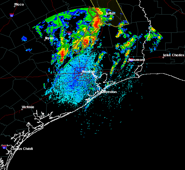 Radar Image for Severe Thunderstorms near Cape Royale, TX at 4/13/2019 2:10 PM CDT