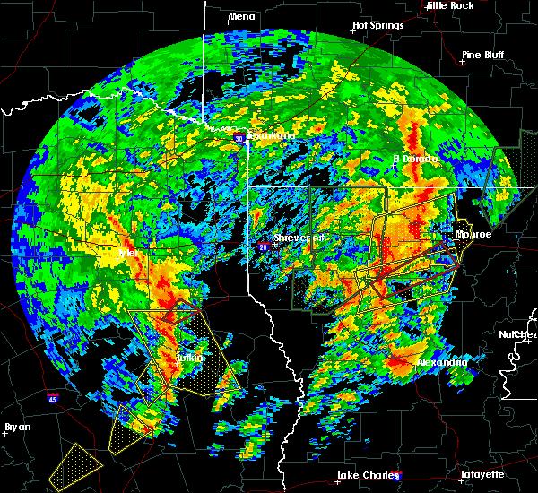 Radar Image for Severe Thunderstorms near Mount Enterprise, TX at 4/13/2019 2:19 PM CDT