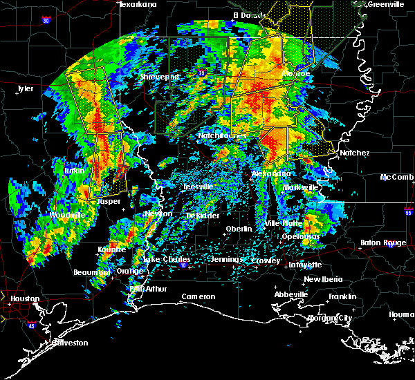 Radar Image for Severe Thunderstorms near Olla, LA at 4/13/2019 3:03 PM CDT