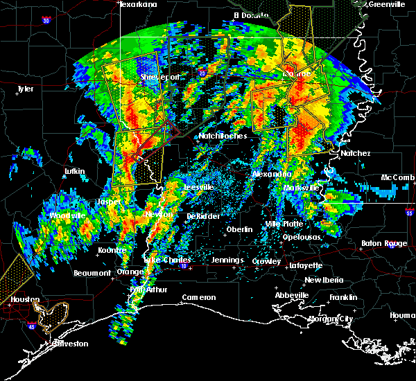 Radar Image for Severe Thunderstorms near Olla, LA at 4/13/2019 3:32 PM CDT