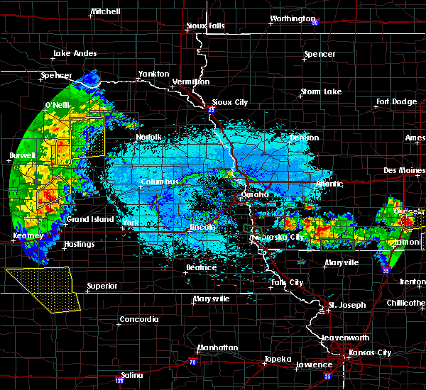 Radar Image for Severe Thunderstorms near Elgin, NE at 6/10/2015 7:05 PM CDT
