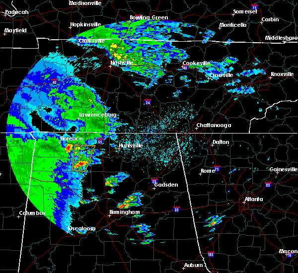 Radar Image for Severe Thunderstorms near Athens, AL at 4/13/2019 7:57 PM CDT