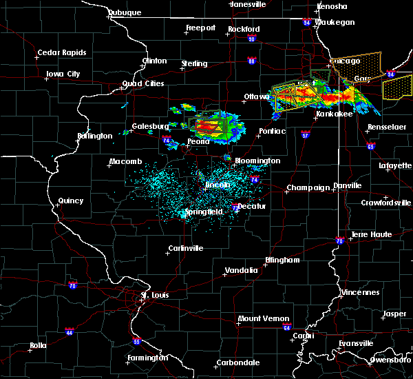 Radar Image for Severe Thunderstorms near Lacon, IL at 6/10/2015 7:20 PM CDT