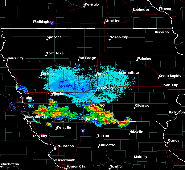 Radar Image for Severe Thunderstorms near Woodburn, IA at 6/10/2015 7:23 PM CDT